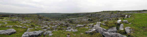 Burren Panorama in Co. Clare