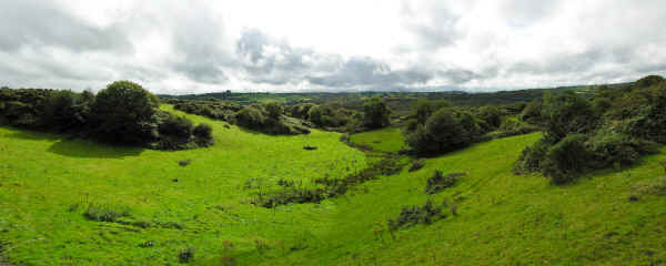 Co. Cork Panorama near Prince August Toy Soldier Factory