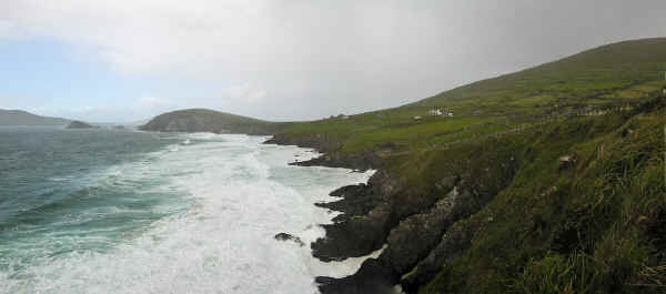Dunmore Head Panorama in Co. Kerry